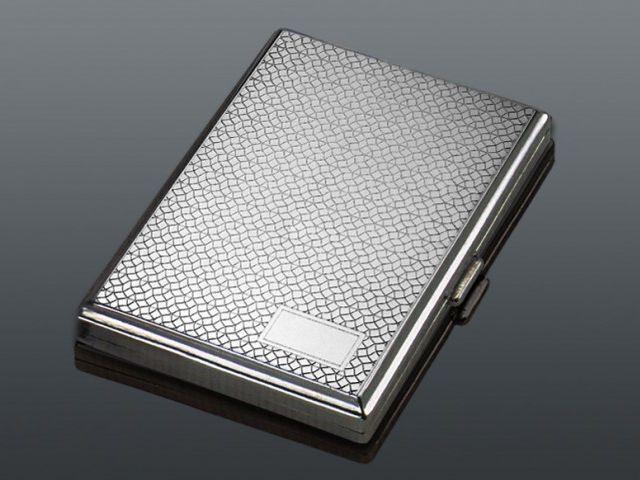 11109 - Ταμπακιέρα για εκατοστάρια τσιγάρα μεταλλική MADO 100mm 666-0115