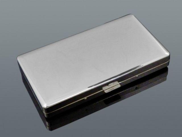 11122 - Ταμπακιέρα για μακρυά τσιγάρα 11.5cm μεταλλική MADO 666-0166