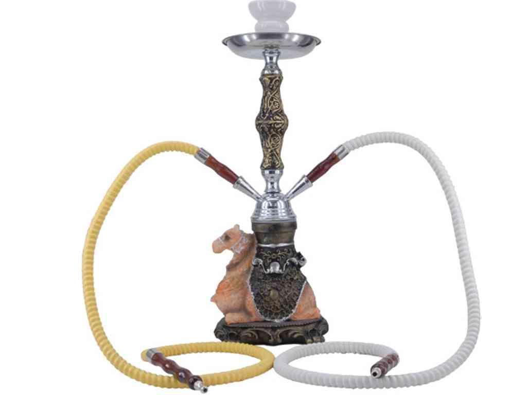 1821 - Ναργιλές CONEY Hookah 40cm Camel 0230404