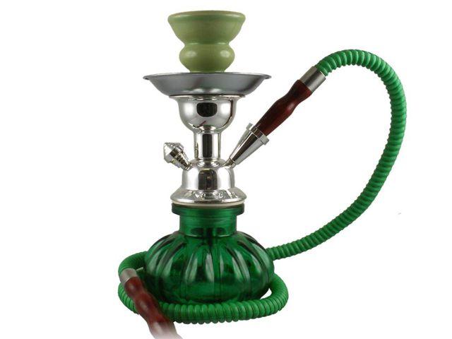 11132 - Ναργιλές Modern shisha SINAI 25cm πράσινο χρώμα 99445020
