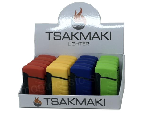 11176 - Αντιανεμικός Αναπτήρας TSAKMAKI JET FLAME 711 (κουτί των 20 τεμαχίων)