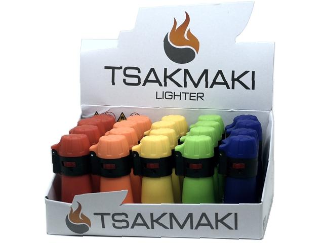 11178 - Αντιανεμικός Αναπτήρας TSAKMAKI JET FLAME 708 ΒΑΡΕΛΑΚΙ (κουτί των 20 τεμαχίων)