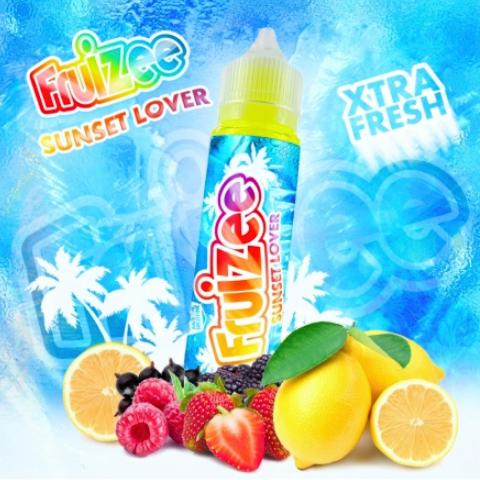 ELIQUID FRANCE FRUIZEE SUNSET LOVER FLAVOUR SHOT 30/70ML (κόκκινα φρούτα με λεμόνι)