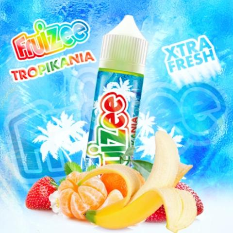 ELIQUID FRANCE FRUIZEE TROPICANIA FLAVOUR SHOT 30/70ML (φράουλα, μπανάνα και μανταρίνι)