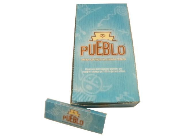 Χαρτάκια PUEBLO BLUE 50 φύλλων (Κουτί 25 τεμαχίων)