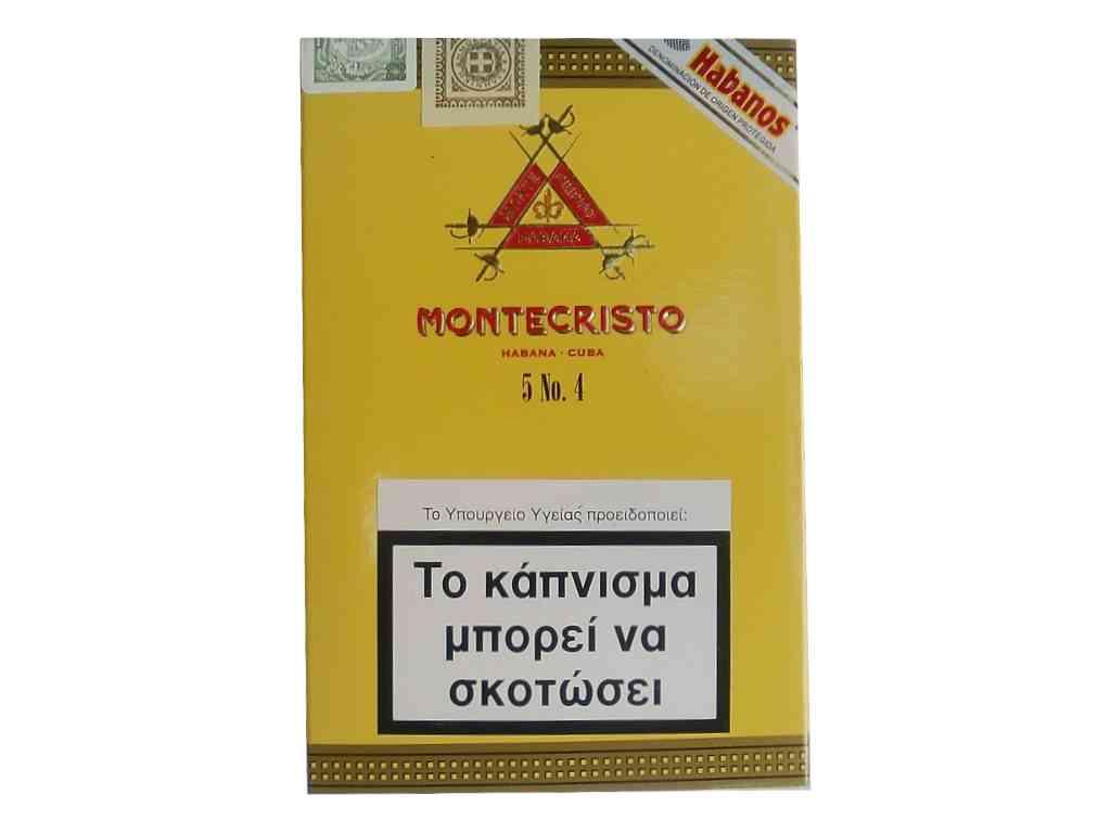 Πούρα Montecristo No4 πεντάδα