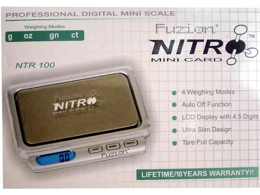 Ζυγαριά ακριβείας NITRO 100 με ακρίβεια 0,01