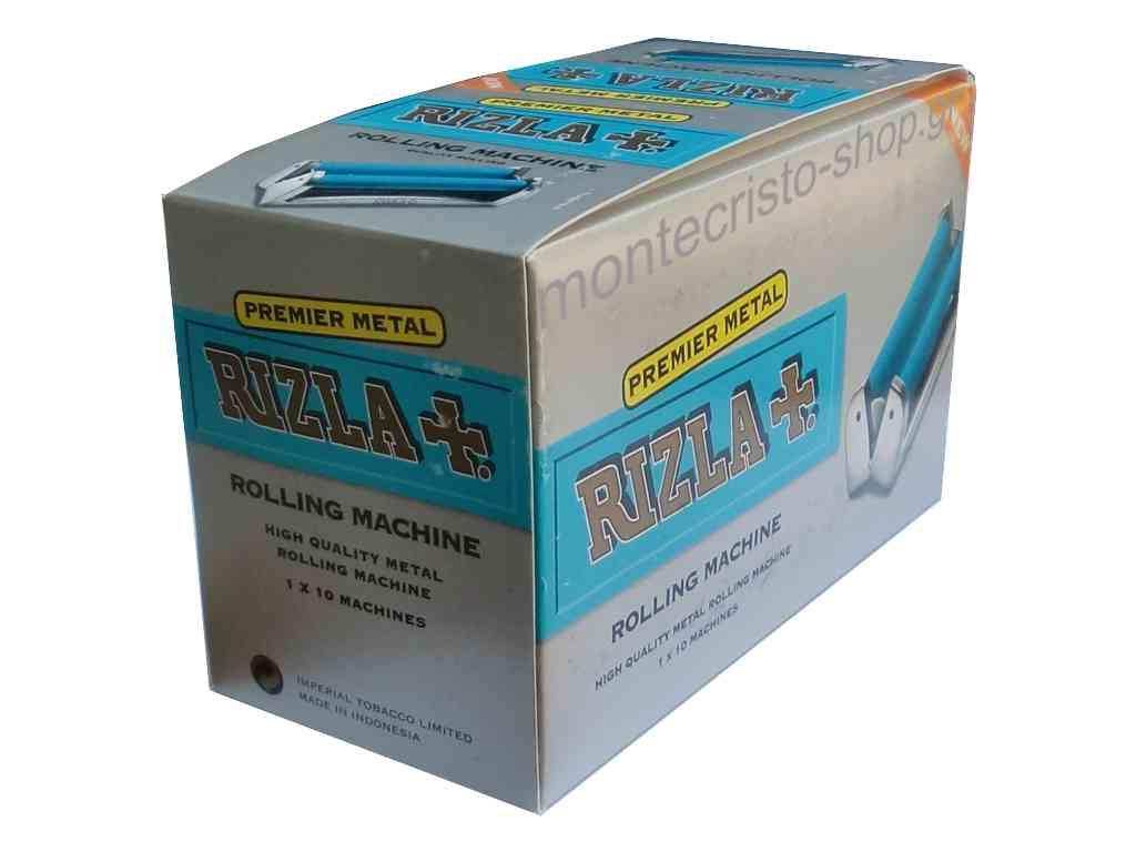 1919 - Κουτί με 10 Μηχανές στριφτού Rizla Premier Metal