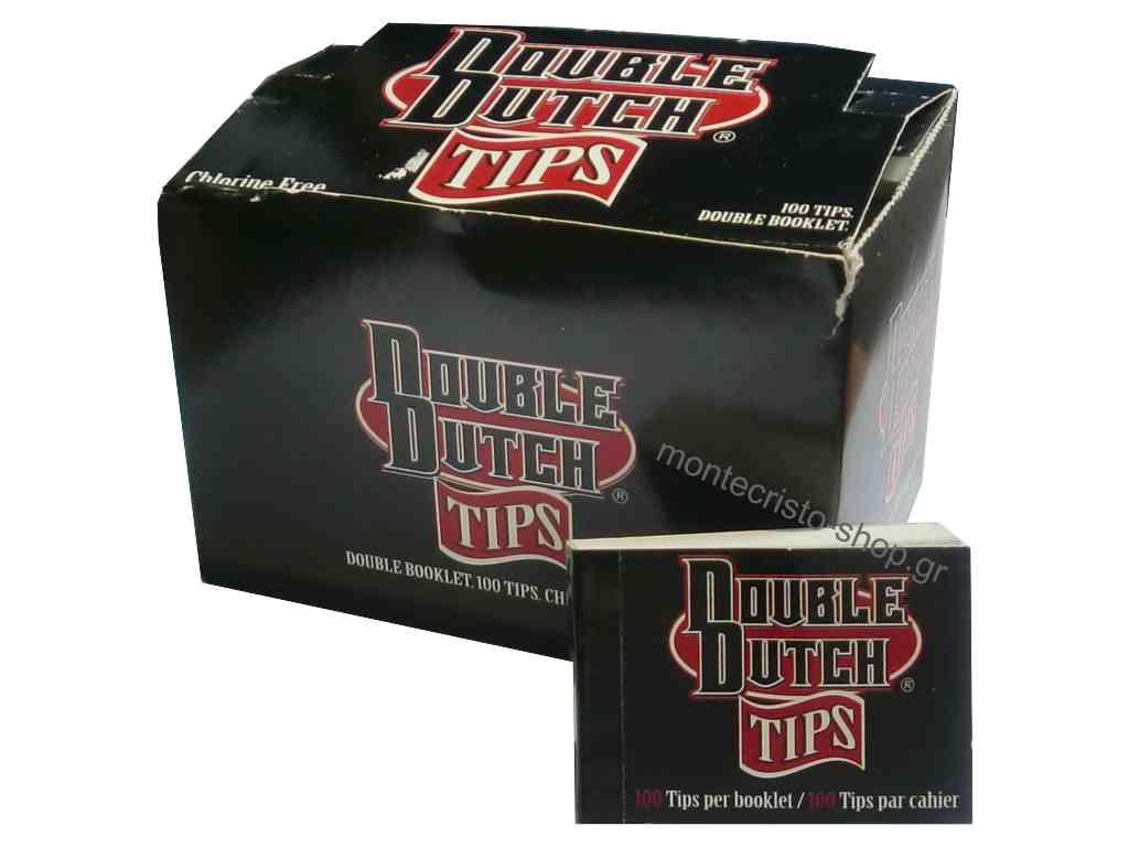 1929 - 24 τζιβάνες DOUBLE DUTCH tips διπλές κανονικές με 100 τεμάχια με τιμή 0,30 η τζιβάνα