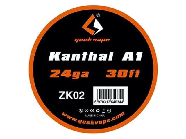 Σύρμα Geek Vape Kanthal A1 24GA 30ft