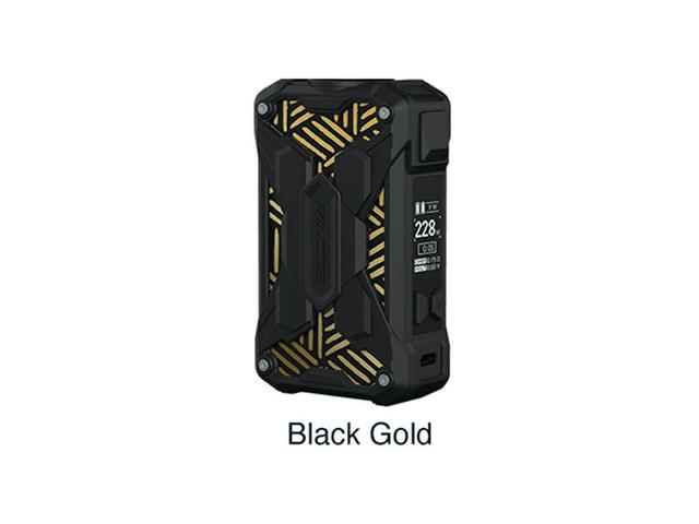 Mechman Lite 228W Mod BLACK-GOLD (2*18650) by Rincoe