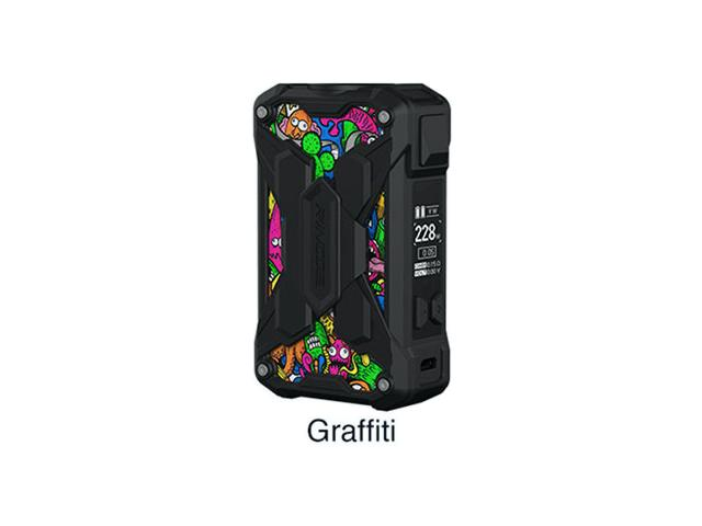 Mechman Lite 228W Mod GRAFFITI (2*18650) by Rincoe