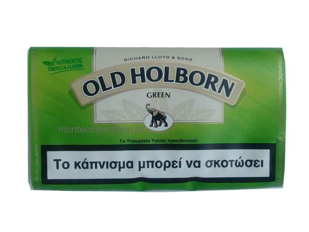 Καπνός στριφτού Old Holborn Green πράσινος 30gr
