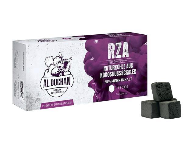 11284 - Καρβουνάκια για ναργιλέ AL DUCHAN RZA 1kg (Κουτί με 64 καρβουνάκια)
