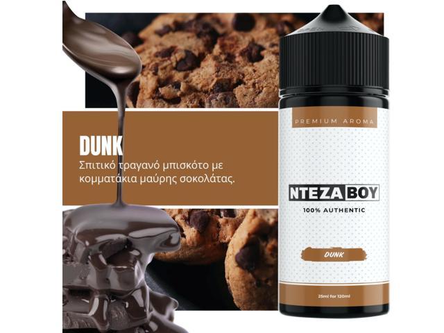 ΝΤΕΖΑΒΟΥ 100% AUTHENTIC Flavour Shot DUNK 25ml / 120ml (μπισκότο με μαύρη σοκολάτα)