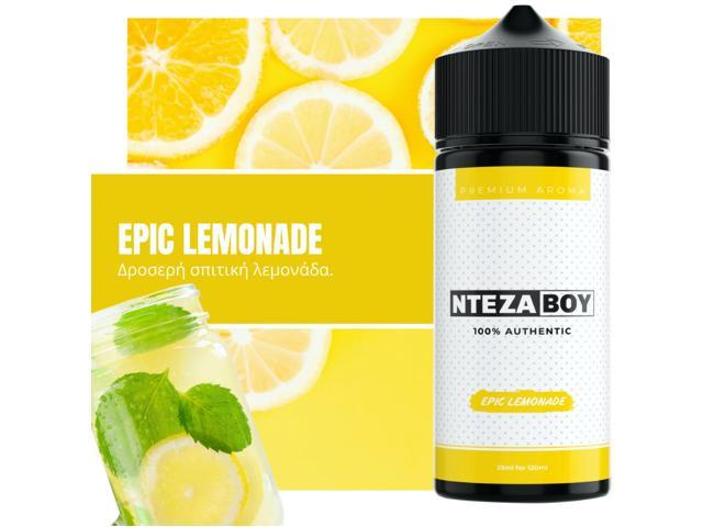 11306 - ΝΤΕΖΑΒΟΥ 100% AUTHENTIC Flavour Shot EPIC LEMONADE 25ml / 120ml (λεμονάδα)