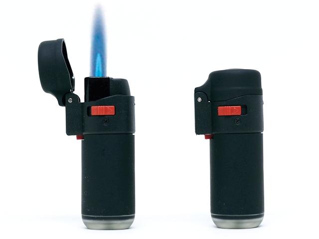 LEON 170225 JETFLAME BLACK LIGHTER ΒΑΡΕΛΑΚΙ αναπτήρας αντιανεμικός
