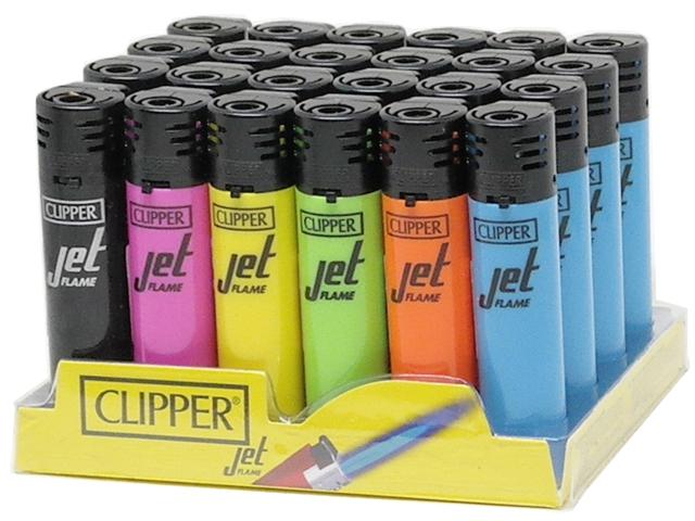 11417 - CLIPPER JET SOFT COLOUR D48 (κουτί με 48 αναπτήρες)
