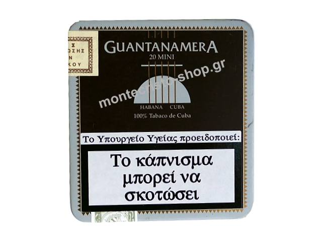 Cigarillos Guantanamera mini 20s