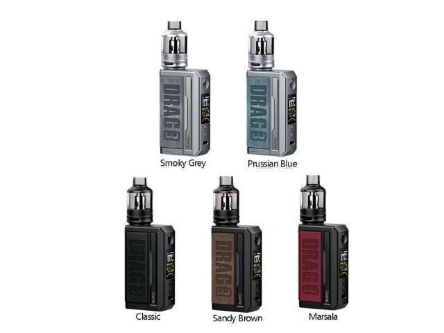 11469 - DRAG 3 KIT 177w with TPP tank by Voopoo