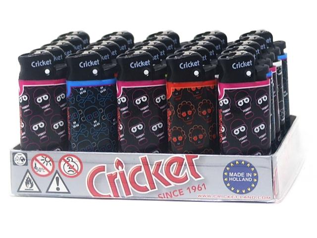 2415 - Αναπτήρας Cricket Mini CR Electro bones lb 22125225 (κουτί των 25)