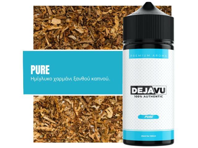 ΝΤΕΖΑΒΟΥ 100% AUTHENTIC Flavour Shot PURE 25ml / 120ml (γλυκό καπνικό)