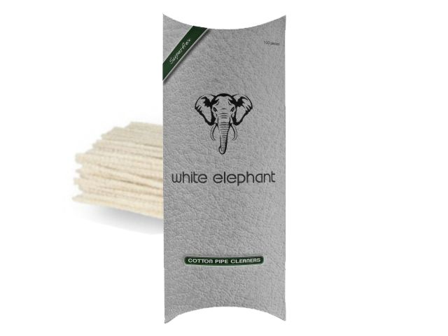 Καθαριστικά πίπας καπνού WHITE ELEPHANT ΒΑΜΒΑΚΕΡΑ (made in Germany)