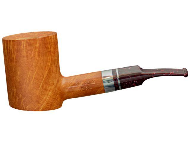 11499 - SAVINELLI BACCO 311 NATURAL SMOOTH 9mm πίπα καπνού