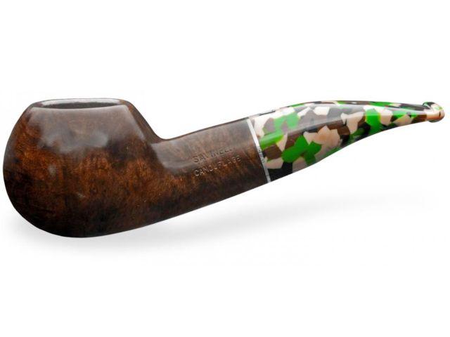 11505 - SAVINELLI CAMOUFLAGE 320 SMOOTH DARK BROWN 9mm πίπα καπνού