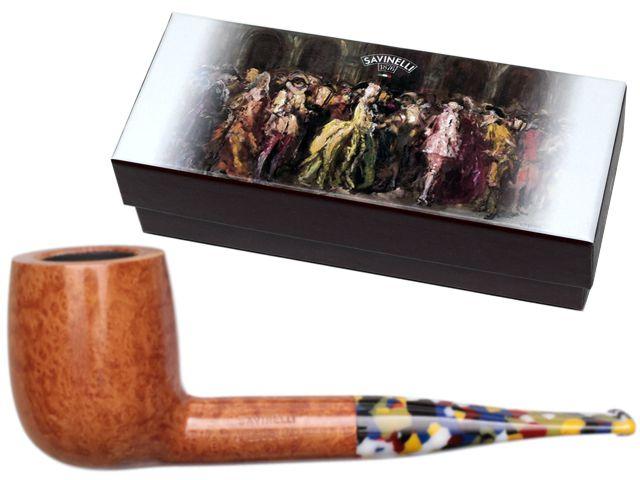 11507 - SAVINELLI ARLECCHINO 111 KS SMOOTH 9mm πίπα καπνού