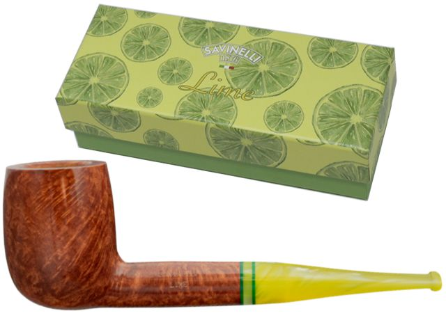 11509 - SAVINELLI LIME 111 SMOOTH BROWN 9mm πίπα καπνού