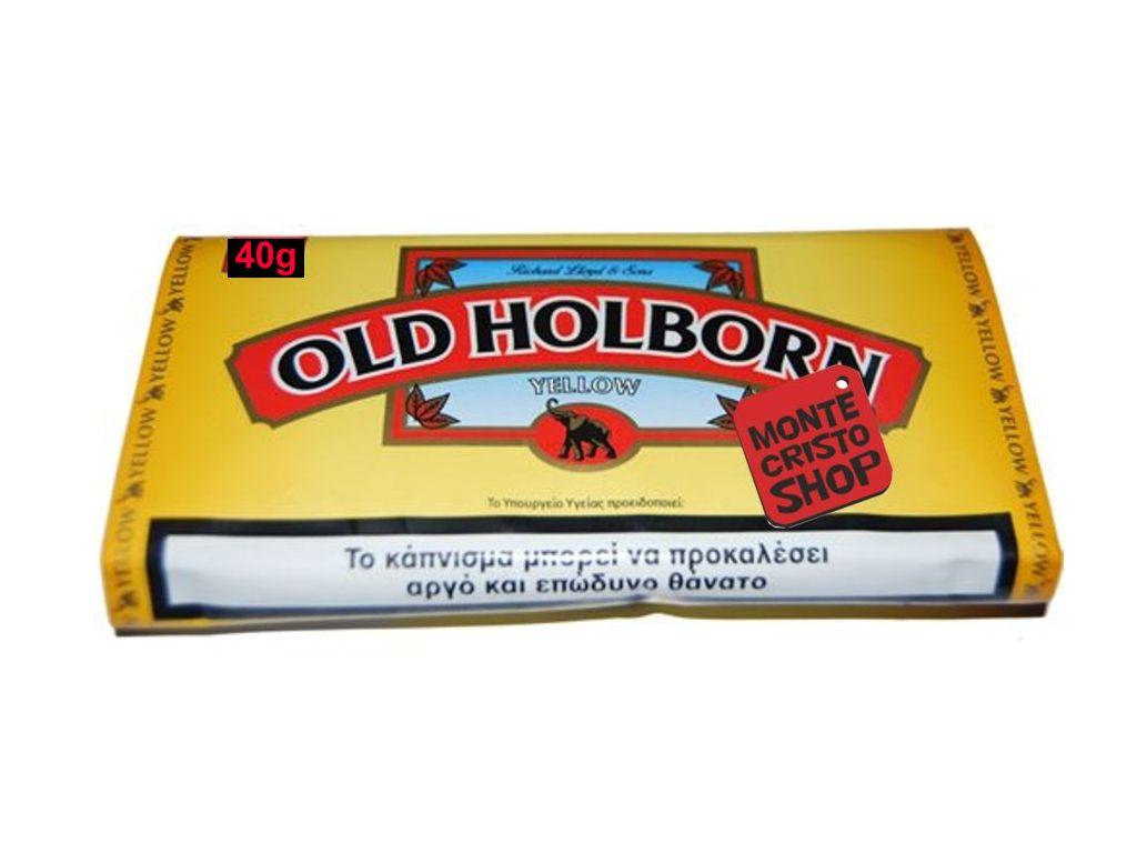 Καπνός στριφτού Old Holborn Yellow 40gr