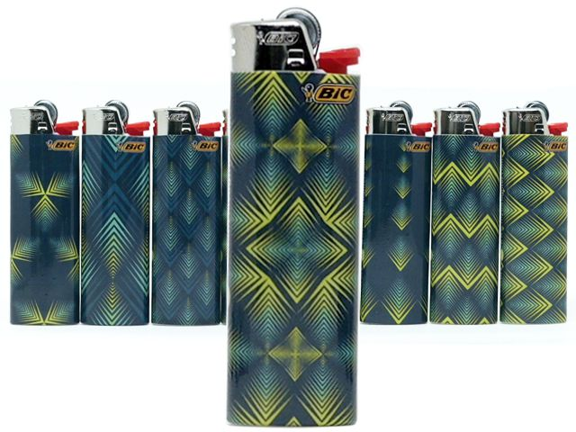 Αναπτήρες Bic Maxi PEACOCK μεγάλοι J26 slv (8 τεμάχια)
