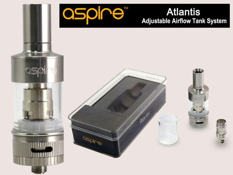 Ατμοποιητής ASPIRE ATLANTIS TANK KIT 2ml