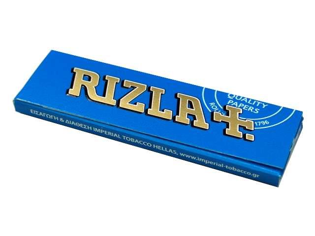 Χαρτάκια στριφτού Rizla Γαλάζιο 60 φύλλα