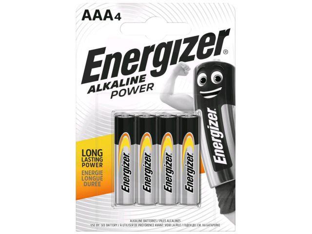ENERGIZER ALKALINE POWER AAA ΑΛΚΑΛΙΚΕΣ (4 ΜΠΑΤΑΡΙΕΣ)