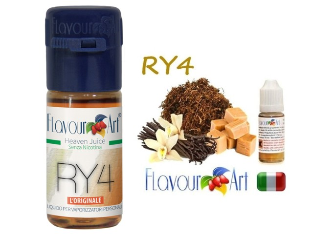 2354 - FlavourArt RY4 10 ml (καπνικό)