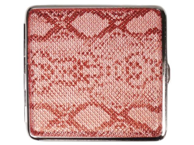 11851 - Ταμπακιέρα για 20 τσιγάρα COOL Animal Skin 99606654 A Μεταλλική Γυναικεία