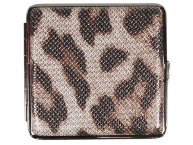 11852 - Ταμπακιέρα για 20 τσιγάρα COOL Animal Skin 99606654 B Μεταλλική Γυναικεία