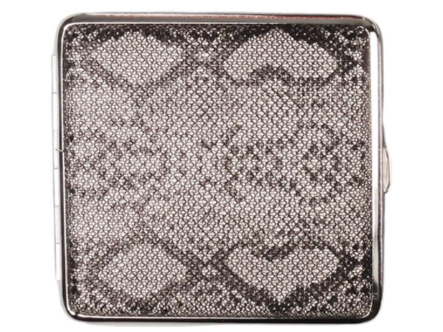 11854 - Ταμπακιέρα για 20 τσιγάρα COOL Animal Skin 99606654 D Μεταλλική Γυναικεία