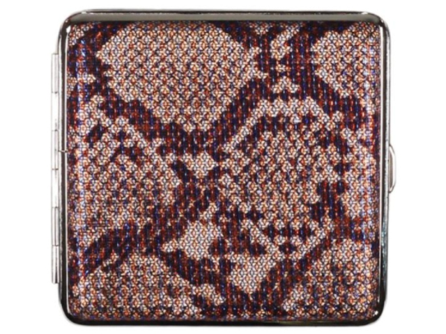 11855 - Ταμπακιέρα για 20 τσιγάρα COOL Animal Skin 99606654 E Μεταλλική Γυναικεία
