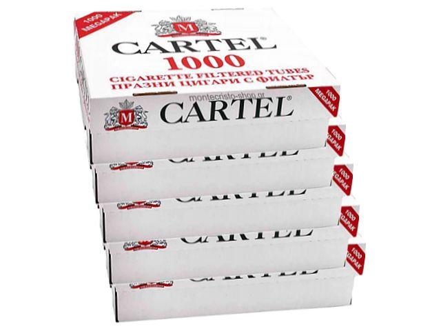 Κιβώτιο με 20 άδεια τσιγάρα CARTEL 1000