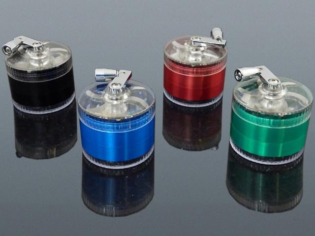 11884 - Τρίφτης καπνού MADO ΜΥΛΟΣ Μεταλλικός 60mm τετραπλός 661-2127