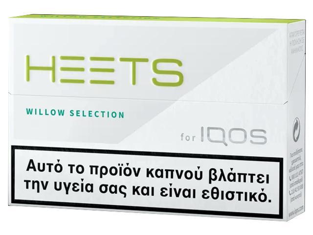 11948 - Ανταλλακτικά IQOS HEETS WILLOW SELECTIONS (20 τεμάχια) καπνική γεύση με μέντα και βότανα