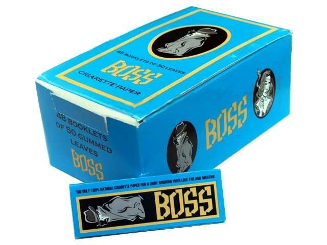 2561 - Κουτί με 48 χαρτάκια στριφτού BOSS