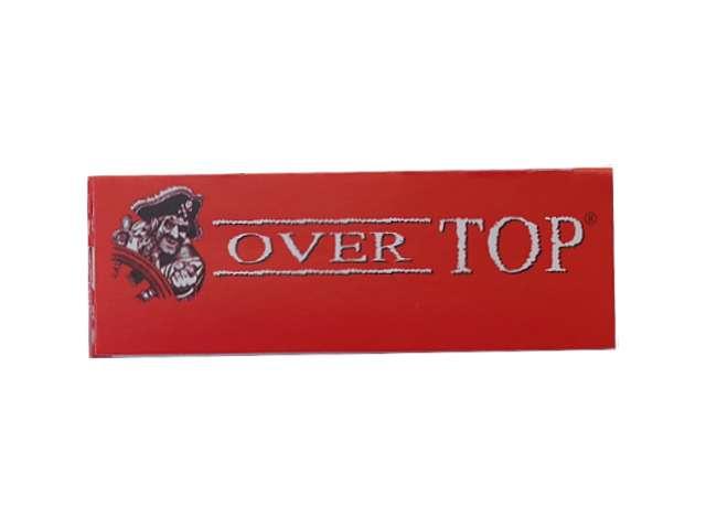 Χαρτάκια στριφτού Over Top κόκκινα