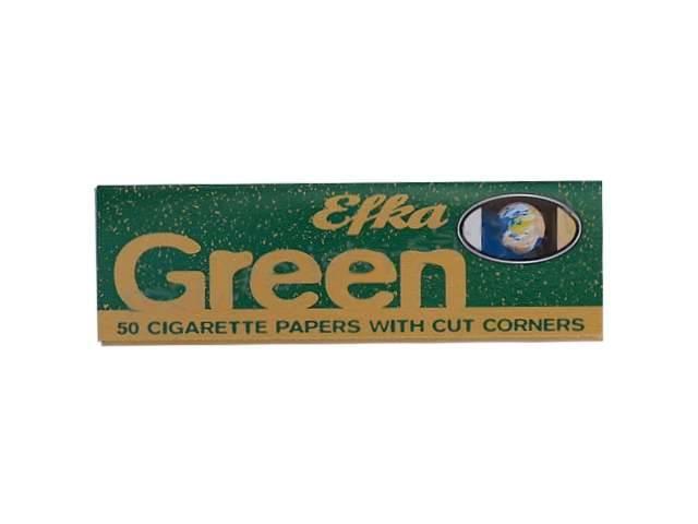 2571 - Χαρτάκια στριφτού Efka Green