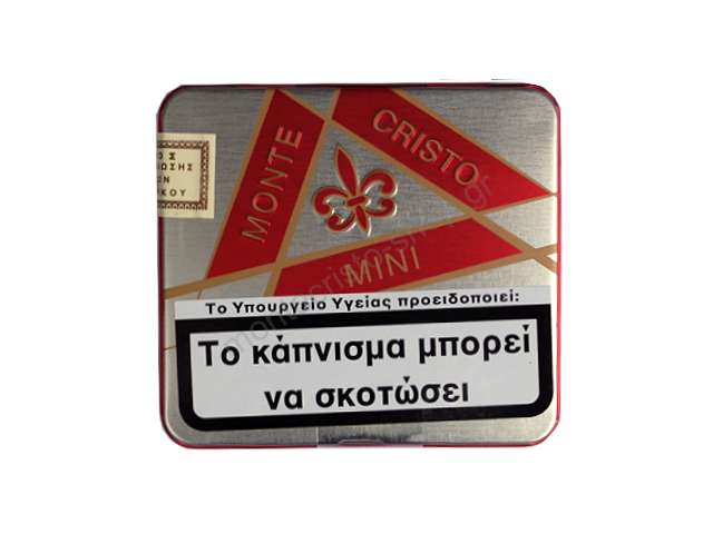 2591 - Montecristo mini red 10s cigarillos κόκκινο