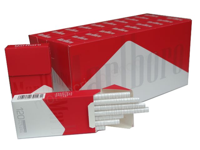 Κουτί με 20 φιλτράκια στριφτού Marlboro Extra Slim 120 pre-cut