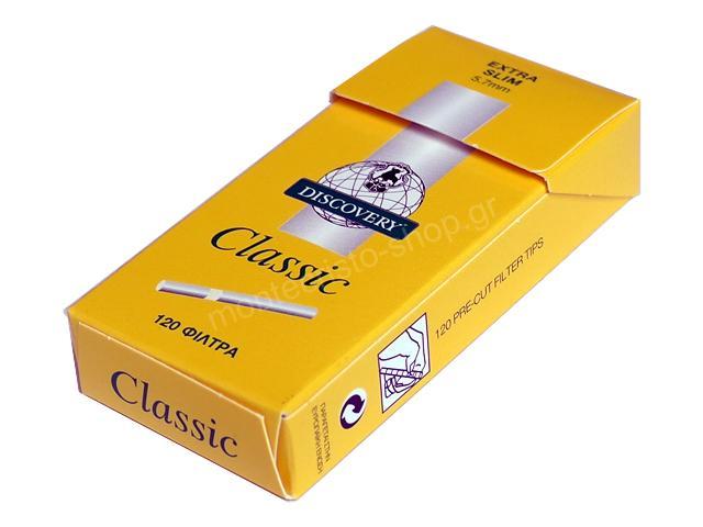 2702 - Φιλτράκια στριφτού DISCOVERY Classic Extra Slim 5.7mm